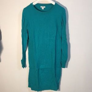 Turquoise Teal Old Navy sweater tunic sz small.